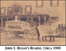 John E. Regan Hearse, circa 1900